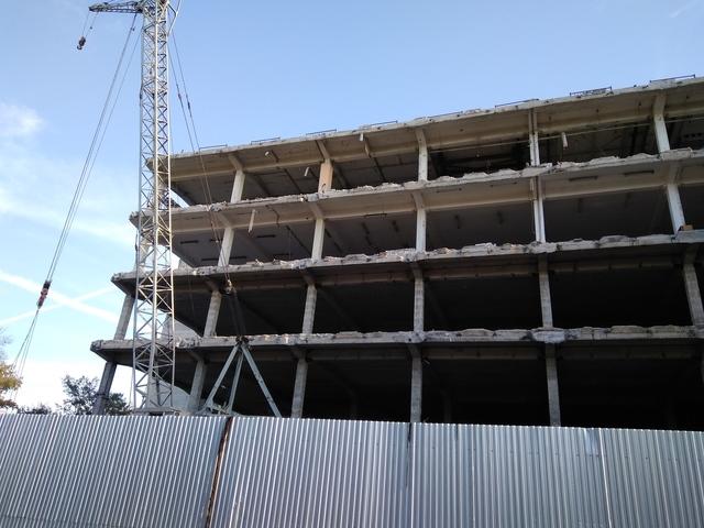 Реконструкция универмага «Тверь» подходит к завершению»